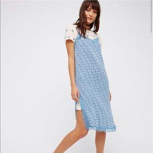 Free People 2fer Floral/Polkadot Dress Size 2